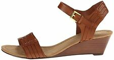 Lauren Ralph Lauren Women's Latrice Ankle Strap Wedge Sandals