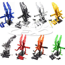 CNC Footpegs Rear Set Rearsets Foot Pegs For Honda GROM  MSX125 2012-2015