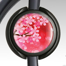 Stethoscope ID Tag - Stethoscope Name Tag Clip - Unique Cherry Blossoms 3 RN DR.