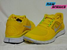 NIKE FREE RUN 3 + YELLOW SIZE 9.5 510642 706