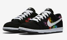 NIB! Nike SB Dunk Low Ishod Wair Shoes. Black/White-Multi Color.  size 13