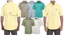 Hook & Tackle Mens Short Sleeve Fishing Shirt Wholesale PACKS