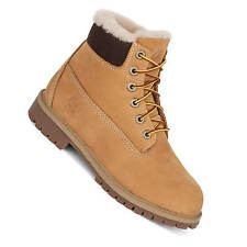Timberland 6 Inch Premium WP Shearling Boot beige Winter boots with real Fur