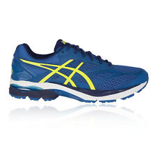 Asics Gel Pulse 8 Mens Blue Cushioned Running Road Sports Shoes Trainers Pumps