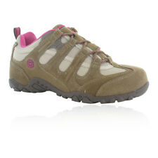 Hi-Tec Quadra Classic Womens Brown Outdoors Walking Hiking Shoes Trainers