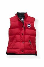 NEW CANADA GOOSE WOMENS FREESTYLE VEST 2832L RED DOWN