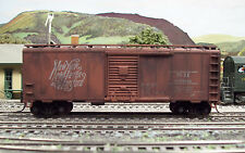 PJs CUSTOM WEATHERED ATHEARN HO NEW HAVEN BOXCAR