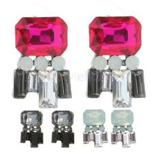 Fashion Vintage Party Lady Crystal Rhinestone Women Dangle Stud Earrings