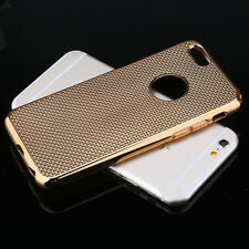 Luxury Stylish Electroplated Dotted Case Cover Gold For iPhone 5 5s {[mh276