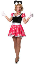 Minnie Mouse Lady Costume NEW - Ladies Carnival Fancy Dress
