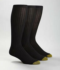 Gold Toe Canterbury Over The Calf Dress Socks 3-Pack Hosiery - Men's