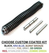 CDS STAINLESS STEEL GUIDE ROD ASSEMBLY & PIN KIT FOR GLOCK GEN 1-3 CHOOSE SIZE