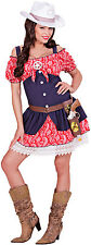 Wild West Cowgirl Costume NEW - Ladies Carnival Fancy Dress