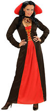 Victorian Vampire queen Costume NEW - Ladies Carnival Fancy Dress