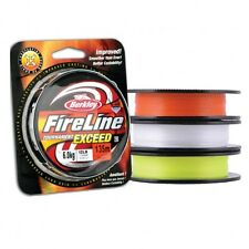 Berkley FireLine Tournament Exceed PE Braid ORANGE Colour 135m /150yds ALL SIZES