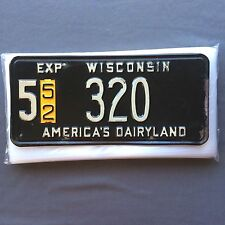 """License Plate Sleeves 7"""" x 14"""" 4 mil Thick Poly Bags Vintage Tag Storage Protect"""