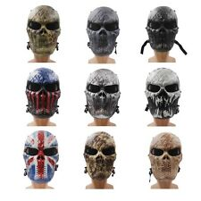 Airsoft Paintball Full Face Skull Skeleton CS Mask Tactical Military Masks Ghost
