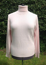 BNWT Authentic Jaeger Pure Cashmere Roll Neck Jumper (RRP £175)