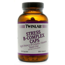 Twinlab Stress B Complex High-Potency Caps with Vitamin C 300 Capsules