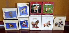 HALLMARK A PONY FOR CHRISTMAS SERIES 1998 #1 2003 COLORWAY 2007 CLUB + YOU PICK