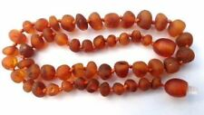 Child Cocoa Raw Cognac Baltic Amber Necklace