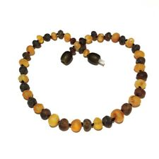 Child Pippin Raw Green Honey Baltic Amber Necklace