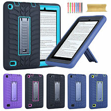 "Heavy Duty Rugged Hard Case Cover Kickstand For Amazon Kindle Fire 7"" 5th Gen"