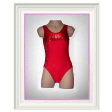 NEW Gymnastics Leotard - Red hot