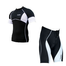 Zimco Pro Cycling Short & SS Jersey Cycle Bicycle Bike Short CoolMax Padded 1043