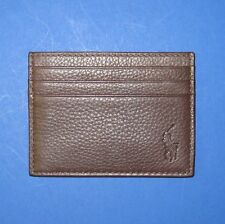 NIB Polo Ralph Lauren Assorted Styles Slim Card Case - FINAL SALE