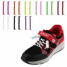 Elastic No Tie Curly Shoe Laces Coiler Elastic Twisty Unisex Fits Kid or Adults