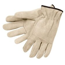 12 pair. Memphis Glove 3120 Split Cowhide Leather Work Gloves. SMALL OR MED  NEW