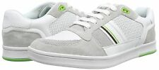 BOSS GREEN BY HUGO BOSS RAY PACK LOW 1 TRAINERS. WHITE, SZ 8, 9, 10 UK, NEW
