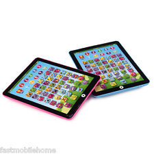 Tablet Pad Computer For Kid Children Learning English Educational Teach Toy ZH