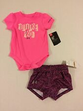 NWT Infant Girl's Under Armour UA Future Pro 2 Piece Outfit