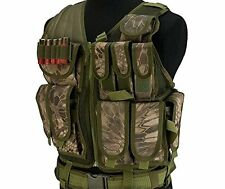 DLP Tactical Spartan Cross Draw Vest with Built-In Holster and Magazine Pouches