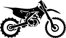 DIRT BIKE MOTORCYCLE moto cross Tribal vinyl decal sticker