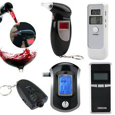 LCD Digital Alcohol Breath Tester Breathalyzer Analyzer Detector Test Lot V6