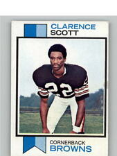 1973 Topps #103 Clarence Scott RC Rookie - GOOD Browns Football Card