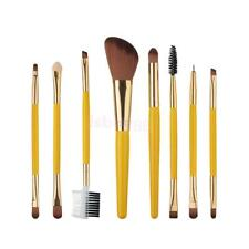 8pcs Pro Makeup Brush Set Kabuki Cosmetics Powder Foundation Eyeliner Lip Brush