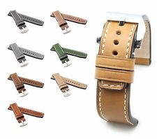 BOB XL Marino Vintage Calf Watch Band for Panerai, 22/22 mm, 7 colors, new!