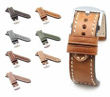 BOB Marino Vintage Calf Watch Band for Panerai, 24/22 mm, 7 colors, new!