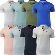 Mens Polo T Shirt Collared Pique Short Sleeve Tokyo Laundry 'Florenzi' Top S-XXL