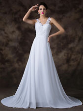 Grace Karin Bridal Wedding Ball Gown Evening Prom Party Dress Custom Size 6-20+