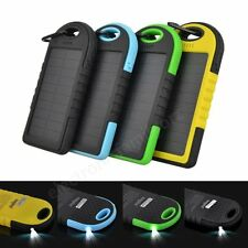 12000MAh External Portable Outdoor Solar Power Bank Battery Charger For iPhone