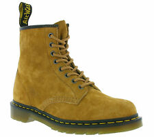 NEW Dr. Martens 1460 Soft Buck Shoes Real Leather Boots Boots Brown 21466220