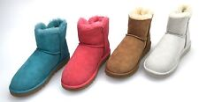 UGG AUSTRALIA WOMAN ANKLE BOOT CODE W MINI BAILEY BUTTON 3352 W
