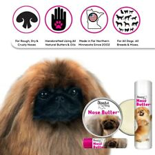 PEKINGESE ALL NATURAL, HANDCRAFTED DOG NOSE BUTTER FOR DRY, CRUSTY PEKE NOSES
