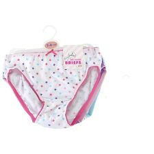 NEW High Quality Girls 100% Cotton Pants Briefs Knickers-Pink