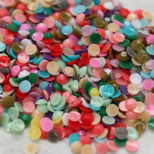 ss6 ss12 ss16 1000/10000p Candy solid mixed resin Rhinestones Flatback Nail Art